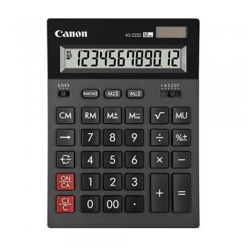 Canon AS-2222 Arc Design Desktop 12 Digits Calculator