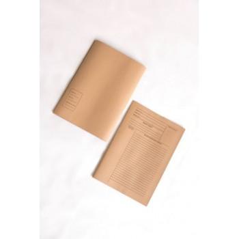 Brown Minutes File - 100pcs