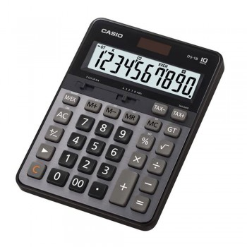 Casio Desktop Calculator - 10 Digits, Heavy Duty Type, Tax Calculation (DS-1B)