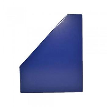 "3"" PVC Magazine Box File - Dark Blue"