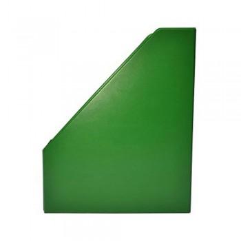 "3"" PVC Magazine Box File - Green"
