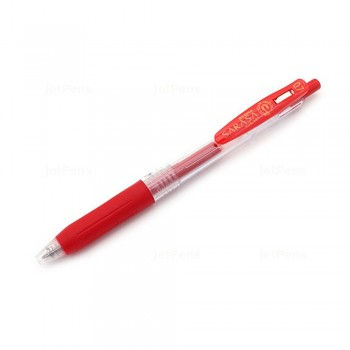 Zebra Sarasa Push Clip Gel Pen 0.7mm Red
