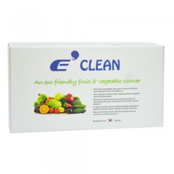 E-Clean Fruit and Vegetable Cleaner - 20 Packet x 15g