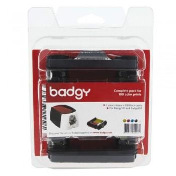 Badgy Consumable 1 Color Ribbons -  VBDG204EU Badgy 1