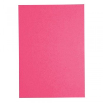 Fluorescent Colour A4 80gsm Paper CS350 - Cyber Red (Item No: C01-04 CY.RD) A5R1B6