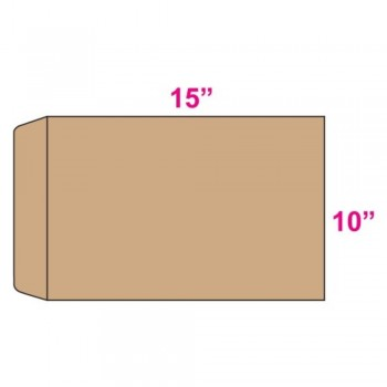 Brown Envelope - Manila - 10-inch x 15-inch