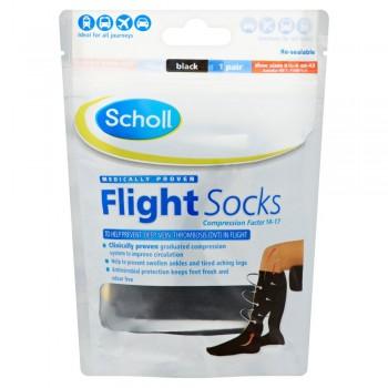 Scholl Cotton Feel Flight Socks Size 6.5-9