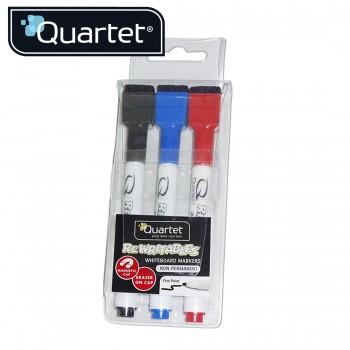 Quartet ReWritables Dry-Erase Markers 51-659312Q